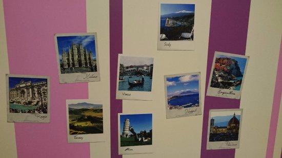 Camping Village Roma: Foto di città italiane sulla parete