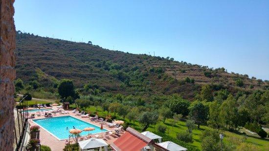 Hotel Hermitage Castellabate: Piscina hotel vista dalla camera