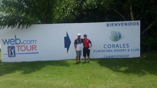 Corales Golf Course: entrada