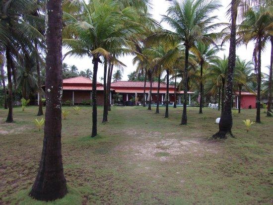 Guaibim, BA: Vista da praia