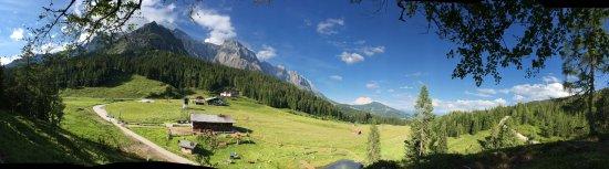 Muhlbach am Hochkonig, Austria: Alm-Panorama