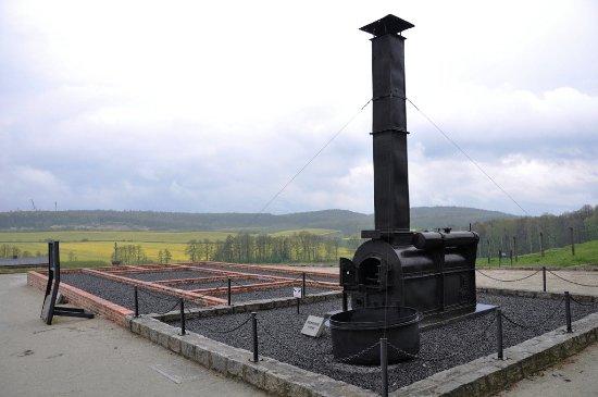 Western Poland, โปแลนด์: Piec krematoryjny.