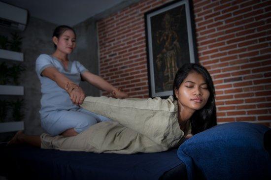 Khmer Relief Spa: Khmer massage