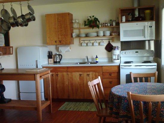 Quillayute River Resort: Kitchen area