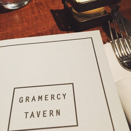 Gramercy Tavern: One of my favorite restaurants in NYC!