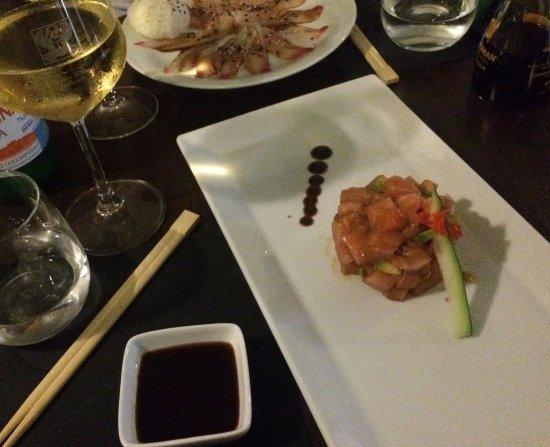Fish Cafe Bistrot: Tartare salmone