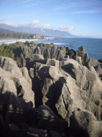 Punakaiki, New Zealand: Very weird place - well worth seeing!