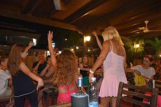 Zaatar Lebanese Syrian Restaurant Dancing With Children