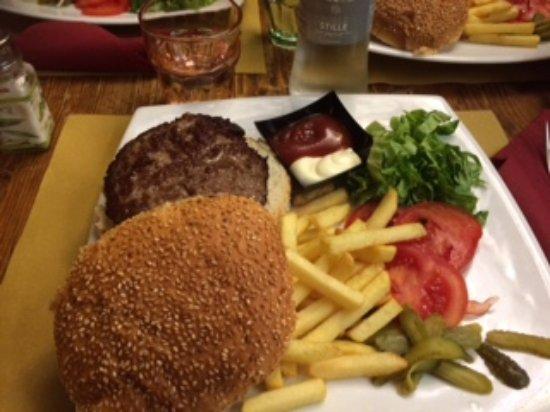 Osteria Rosa Bianca: Hamburger
