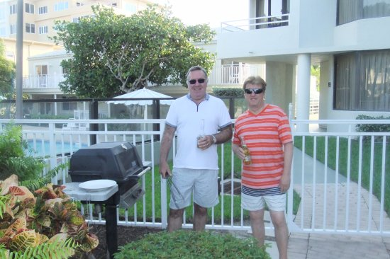 Berkshire by the Sea: ready for the BBQ