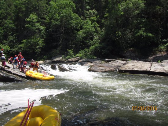 Mountain Rest, Carolina del Sur: Rafting
