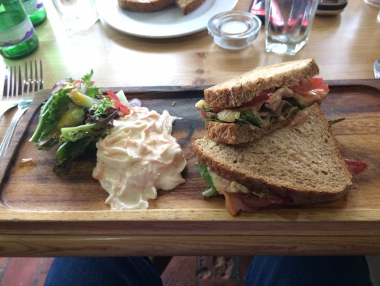 Tivetshall St. Mary, UK: BLT at 'The Old Ram'