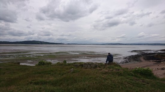 Cramond Island: view from the top