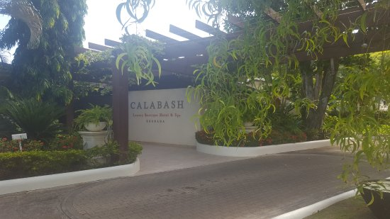 Calabash Luxury Boutique Hotel & Spa: Main Entrance
