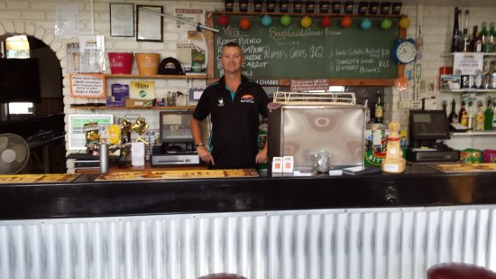 Sisters Beach, Australien: The staff were friendly and helpfull all the time.