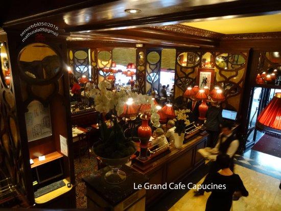 Le Grand Cafe Capucines Interior - Picture of Le Grand Cafe ...