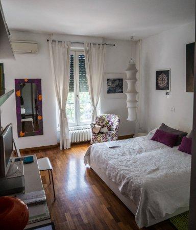 Porta Garibaldi Bed and Breakfast: comfy bed