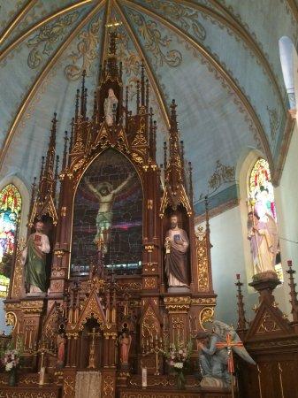 Schulenburg, TX: Painted churches