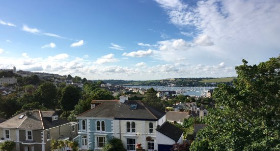 Highcliffe Contemporary Bed and Breakfast: View from room 5