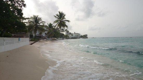 Worthing Beach: East end of beach