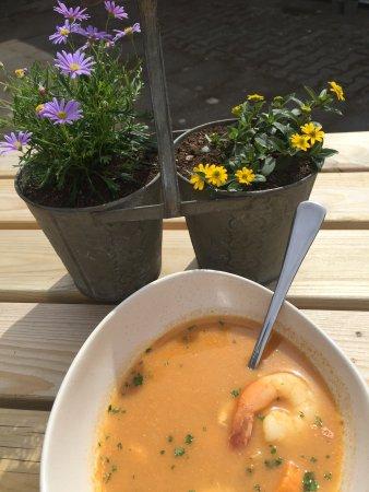 Borgarnes, IJsland: Seafood soup
