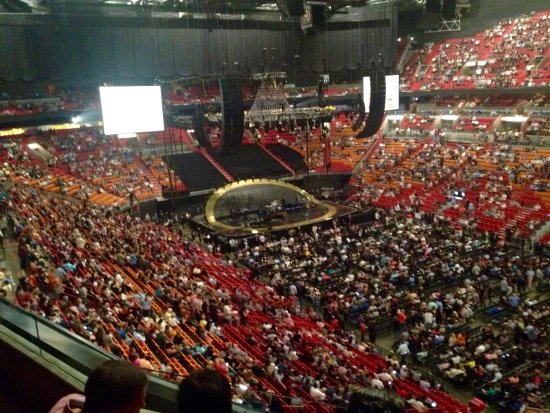 American Airlines Arena Inside Arena Picture Of