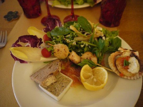 Le Medieval: La trilogie de st jacques et saumon en coquille