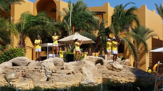Stella Di Mare Beach Resort & Spa Makadi Bay: The amazing friendly animation team