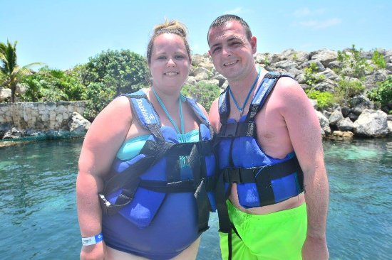 Delphinus Riviera Maya: At the beginning and the only one we managed to get together