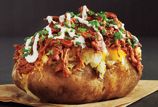 how to make stuffed baked potatoes