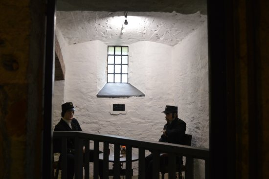 Bodmin Jail : The first display you see when entering from the cafe.