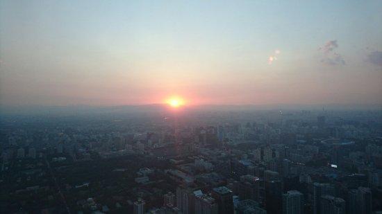 北京で一番高いビルのラウンジ/バー