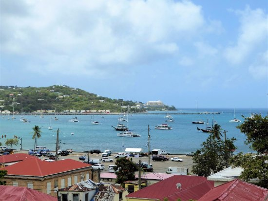 Government House : Commanding view of the harbor