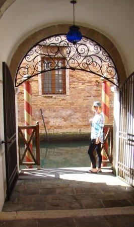 Locanda San Barnaba: Classy--the hotel has a private canal entrance on the Rio del Malpaga off the Grand Canal