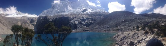 Huascaran National Park, เปรู: Lake 69 Panorama