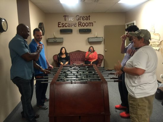 The Great Escape Room Tampa - Picture of The Great Escape Room ...