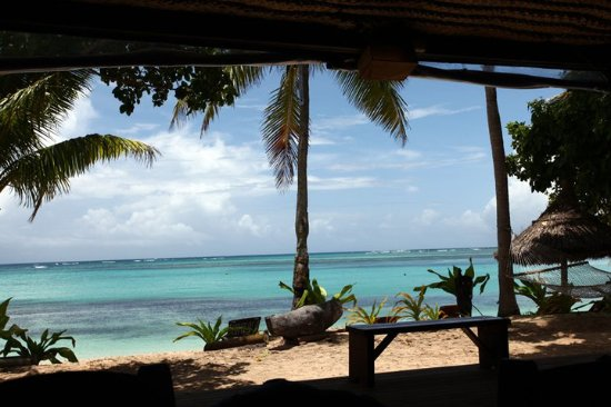 Blue Lagoon Beach Resort: dentro do restaurante com vista para praia