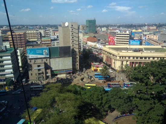 Hilton Nairobi: View from the room
