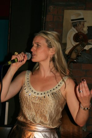 Emily Claire West performs at Cubana