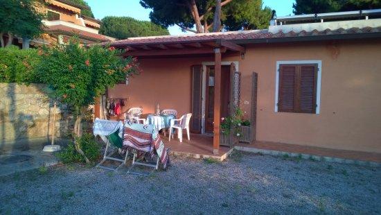Residence Le Grazie Est: veranda del monolocale