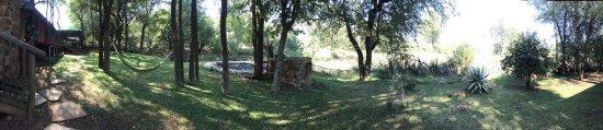 Jaci's Safari Lodge: The backyard of the owner's house