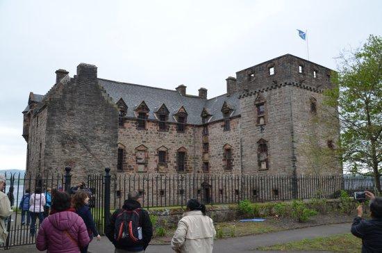 Newark Castle in Port Glasgow, Scotland