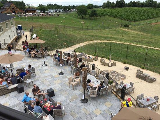 Leesburg, VA: View from top balcony