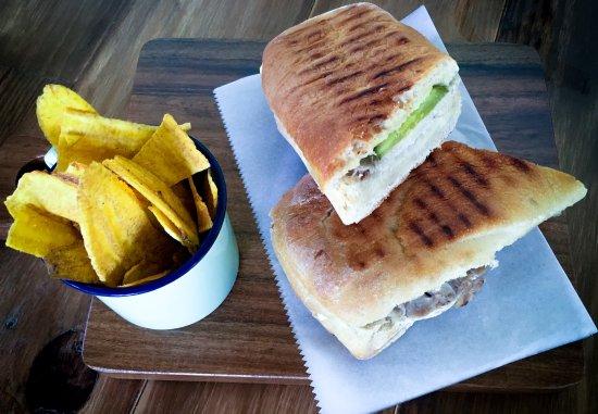 San Rafael de Escazu, Costa Rica: Our Cuban Sandwich
