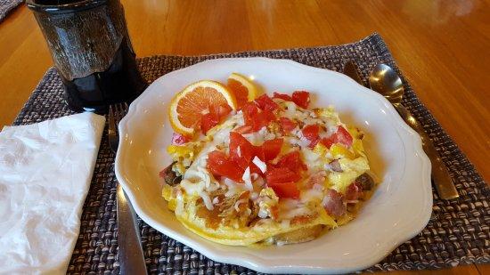 Cabins, Virginia Occidental: Breakfast