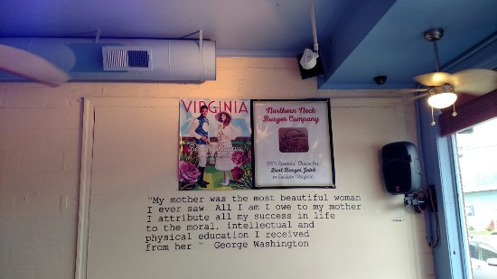 Kilmarnock, VA: Absolutely fabulous burgers.