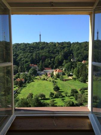 Domus Henrici Boutique Hotel: View from room #6 at Domus Henrici, Prague