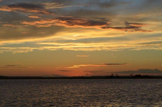 Fernandina Beach, فلوريدا: The sun sets on a beautiful evening.