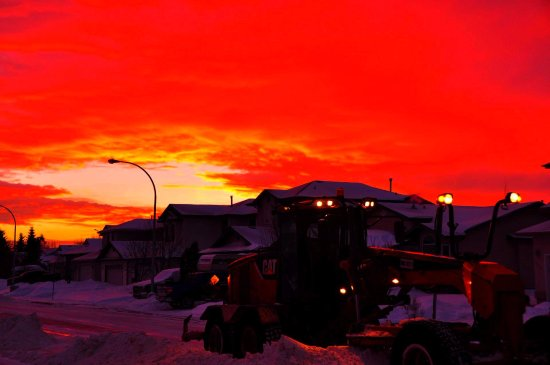 Ottawa, Kanada: Winter in Edmonton Canada.