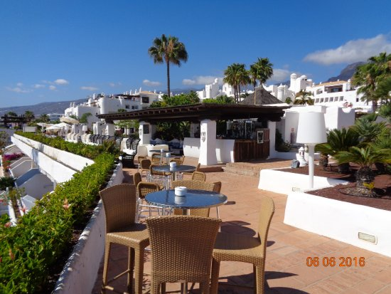 Taras s oneczny picture of hotel jardin tropical costa for Jardin tropical